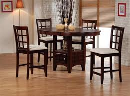 oval counter height dining table oak counter height 5 piece dining set with round oval table top by