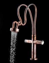 kitchen faucets copper copper faucets copper kitchen faucets houzz vintage bridge