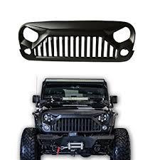 jeep wrangler sport accessories amazon com sxma jeep jk wrangler accessories grille gladiator