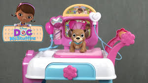 doc mcstuffins toy hospital care cart play