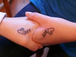 meaningful best friend tattoos ideas with various designs and