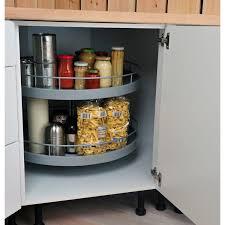 meuble d angle bas pour cuisine tourniquet 2 paniers pour meuble d angle bas delinia leroy merlin