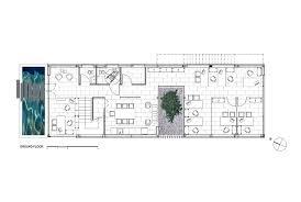 Plan Ground Floor Gallery Of Cunipic Headquarters Codistudio 21