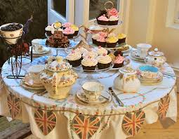 elegant tea party table settings proud to be british tea
