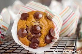 pumpkin chocolate chip muffins real housemoms