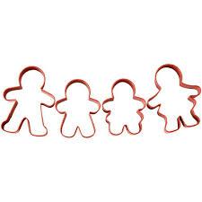 wilton cookie cutter set gingerbread set 4 deleukstetaartenshop