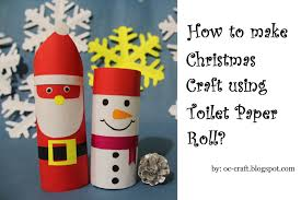 oc craft how to make snowman christmas craft using toilet paper roll