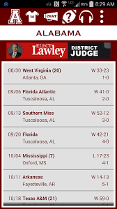 Alabama traveling games images Alabama football schedule android apps on google play