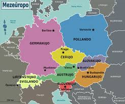 Map Of Central Europe by File Central Europe Regions Eo Png Wikimedia Commons