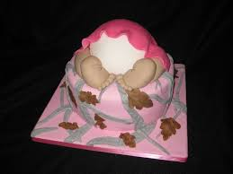 photo pink and camo baby shower image baby shower cakes ideas for realtree pink camo baby bum hide and seek you can u0027t see me