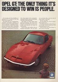 1974 buick opel the opel gt a history