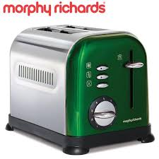 Colorful Toasters Emerald Green Appliances Appliances Toasters Morphy Richards
