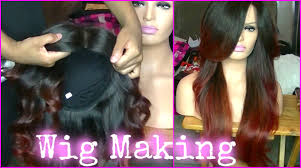 are there any full wigs made from human kinky hair that is styled in a two strand twist for black woman how to make a lace front wig custom wig with lace closure