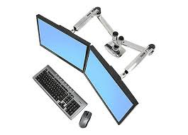 Ergotron Lx Desk Mount Lcd Arm Ergotron Lx Dual Side By Side Arm Mounting Kit 45 245 026