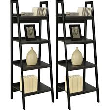 Lyss 5 Tier Corner Ladder by Ladder Shelf Display Plans Ehemco 5 Tier Bookcase Shelf Ladder