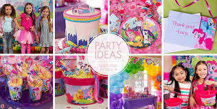 Birthday Favor Ideas by My Pony Supplies My Pony Birthday City