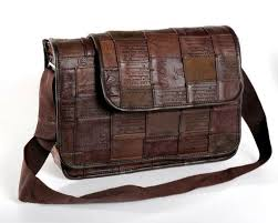Upcycled Leather Bags - boomerang impact buying gives back u2014messenger bags u0026 briefcases