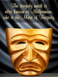 history and meaning of the comedy and tragedy theatre masks