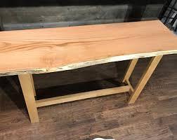 Oak Slab Table by Slab Furniture Etsy