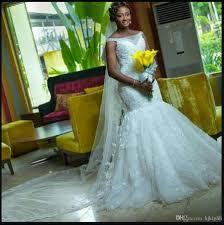 dh wedding dresses custom made 2017 arrival beautiful lace mermaid wedding