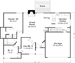 Floor Plans For 1500 Sq Ft Homes 100 House Plans With Garage Mesmerizing 20 Garage Office
