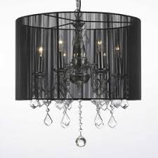 Chandelier Lamp Shades With Crystals Swag Chandeliers For Less Overstock Com