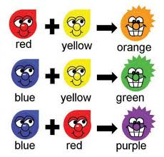 Con Que Color Se Combina Para Hacer Morado