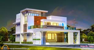 2686 sq ft 4 bedroom contemporary style home kerala home design