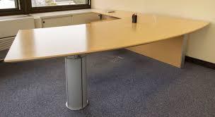 bureau arrondi ensemble de mobilier de bureau comprenant un bureau arrondi de
