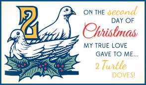 2 turtle doves ecard free christmas cards online