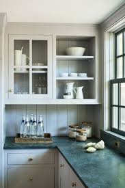 Gray Cabinets In Kitchen by Best 25 Green Kitchen Cabinets Ideas On Pinterest Green Kitchen