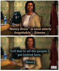 Nancy Meme - nancy drew meme featuring the final scene nancydrew meme