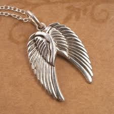 jewelry wings necklace images Sterling silver pair of angel wings necklace silver willow jewellery jpg