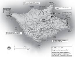 Camping World Locations Map by Backcountry Beach Camping Santa Rosa Island Channel Islands