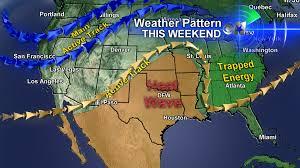 Jetstream Map Us Jetstream Pattern Cbs Dallas Fort Worth