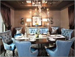 Upholstered Linen Dining Chairs Dining Room Elegant Dining Furniture Design Ideas With Cozy