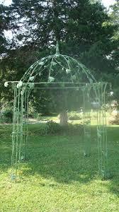 Wrought Iron Pergola by Flower Dome Iron Gazebo Garden Structure