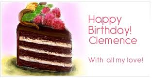 clemence cuisine birthday clemence pictures congratulations