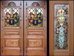 what are various types of plywood available for wooden doors
