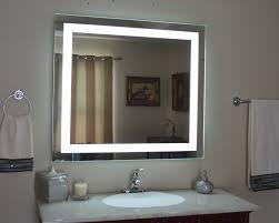 Mirrors Bathroom Vanity Beautiful Decoration Lighted Vanity Wall Mirror Stylish And