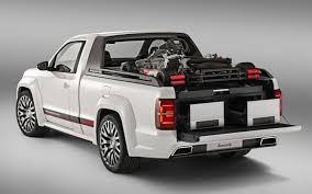 subaru concept truck volkswagen builds wild amarok r pickup concept