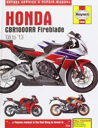 honda cbr1000rr service and repair manual 2008 2013 haynes