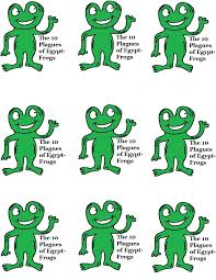 the 10 plagues of egypt frog cupcake