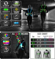 cycling jacket with lights tracer360
