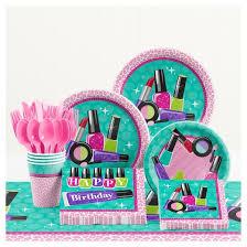 birthday party supplies sparkle spa birthday party supplies kit target
