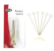 poultry lacers poultry lacers set 6pce s steel d line