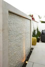 Backyard Feature Wall Ideas Best 25 Midcentury Outdoor Fountains Ideas On Pinterest