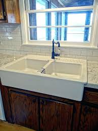 24 inch farmhouse sink 24 polished marble farmhouse sink chiseled apron carrara kitchen 24