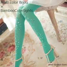 cute stockings beauty show rakuten global market colorful stockings green ribbed