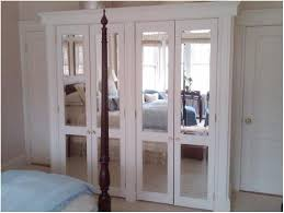 Mirrored Bifold Doors For Closets Inspirations Mirrored Closet Doors With Folding Doors